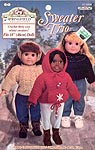 Sweater Trio for 18 inch dolls