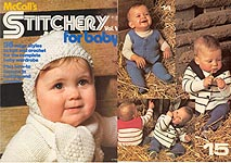 McCall's Stitchery for Baby, Volume V