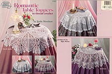 ASN Romantic Table Toppers in Thread Crochet