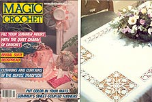 Magic Crochet No. 55, Aug. 1988