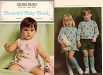 Columbia- Minerva Book 766: Beautiful Baby Book