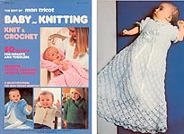 The Best of Mon Tricot Baby- Knitting: Knit and Crochet