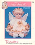 Musical Angel outfit for 19 inch baby doll.
