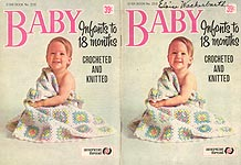 Star Book No. 210: Baby. Infants to 18 Months, Crocheted and Knitted