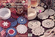 LA Colorful Coasters in Cotton Yarn