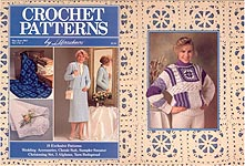 Crochet Patterns by Herrschners, May/June 1989