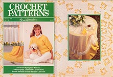 Crochet Patterns by Herrschners, Mar/Apr 1989