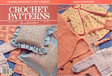 Crochet Patterns by Herrschners, Mar/ Apr 1991