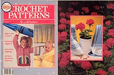 Crochet Patterns by Herrschners, July/ Aug 1990