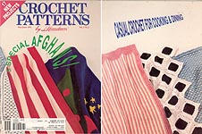 Crochet Patterns by Herrschners, May/June 1991
