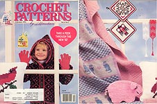 Crochet Patterns by Herrschners, Feb 1992