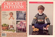 Crochet Patterns by Herrschners, July/ Aug 1989