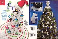 Annies Attic Trim the Tree has two complete and different sets of ornaments, Victorian and Whimsical.