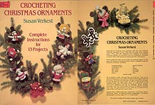 Dover Needlework Series Crocheting Christmas Ornaments