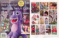 Crochet World Best Crochet Animals, Toys, & Dolls