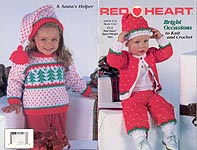 Red Heart Book 1434: Bright Occasions to Knit and Crochet