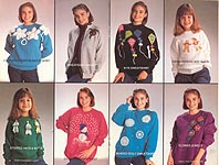 Annie's Attic Simply Fun Sweatshirts