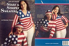 ASN Knit and Crochet Stars & Stripes Sweaters