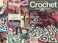 Crochet Home & Holiday Holiday #80, Jan 2001
