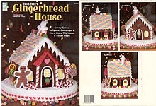 Crochet Gingerbread House from House of White Birches