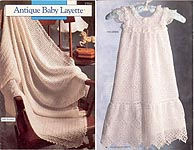 Annie's Attic Antique Baby Layette