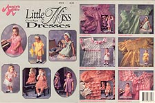 Annie's Attic Little Miss Crochet Dresses