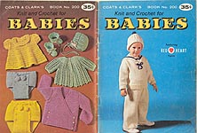 Coats & Clark #200: Knit and Crochet for Babies