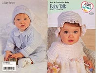 Red Heart Book No. 0140: Baby Talk Knit & Crochet for Baby