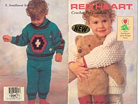 Red Heart Book No. 370: Crochet for Toddlers