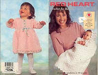 Red Heart Book No. 375: Crochet for Babies