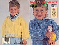 Red Heart Book No. 377: Casual Kids