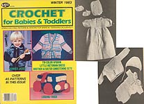 HWB Crochet for Babies & Toddlers, Winter 1983
