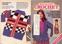 Quick & Easy Crochet, July/ Aug 1988