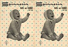 Spinnerin Baby and Toddler Hand Knits, Volume 137