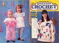 Quick & Easy Crochet, Sept - Oct 1989