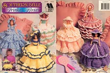 Annie's Attic Fashion Doll Southern Belle Trinket Boxes