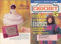 Quick & Easy Crochet, Sept/ Oct 1995