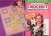 Quick & Easy Crochet, March/ Apr 1996