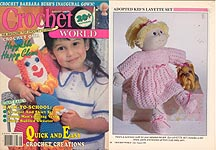 Crochet World August 1990.