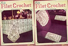 Lily Crochet Design Book No. 66: Filet Crochet