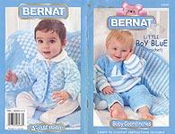 Bernat Baby Coordinates Little Boy Blue (to Crochet)