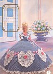 Annies Calendar Bed Doll Society, Cotilliion Collection, Miss February 1992