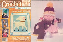 Crochet World, October 1986.
