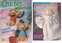 Crochet World, June 1989.
