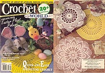 Crochet World April 1990.