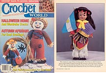 Crochet World October 1992.