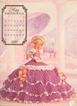 Annies Calendar Bed Doll Society, Cotilliion Collection, Miss May 1992