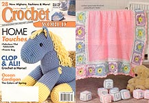Crochet World April 2004.