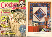 Crochet World February 1994.