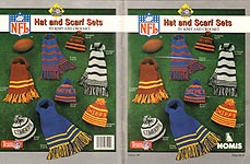 Nomis NFL Hat and Scarf Sets to Knit and Crochet